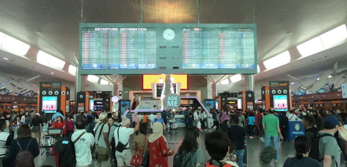 マレーシアの空港