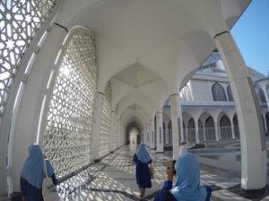 マレーシアのモスク